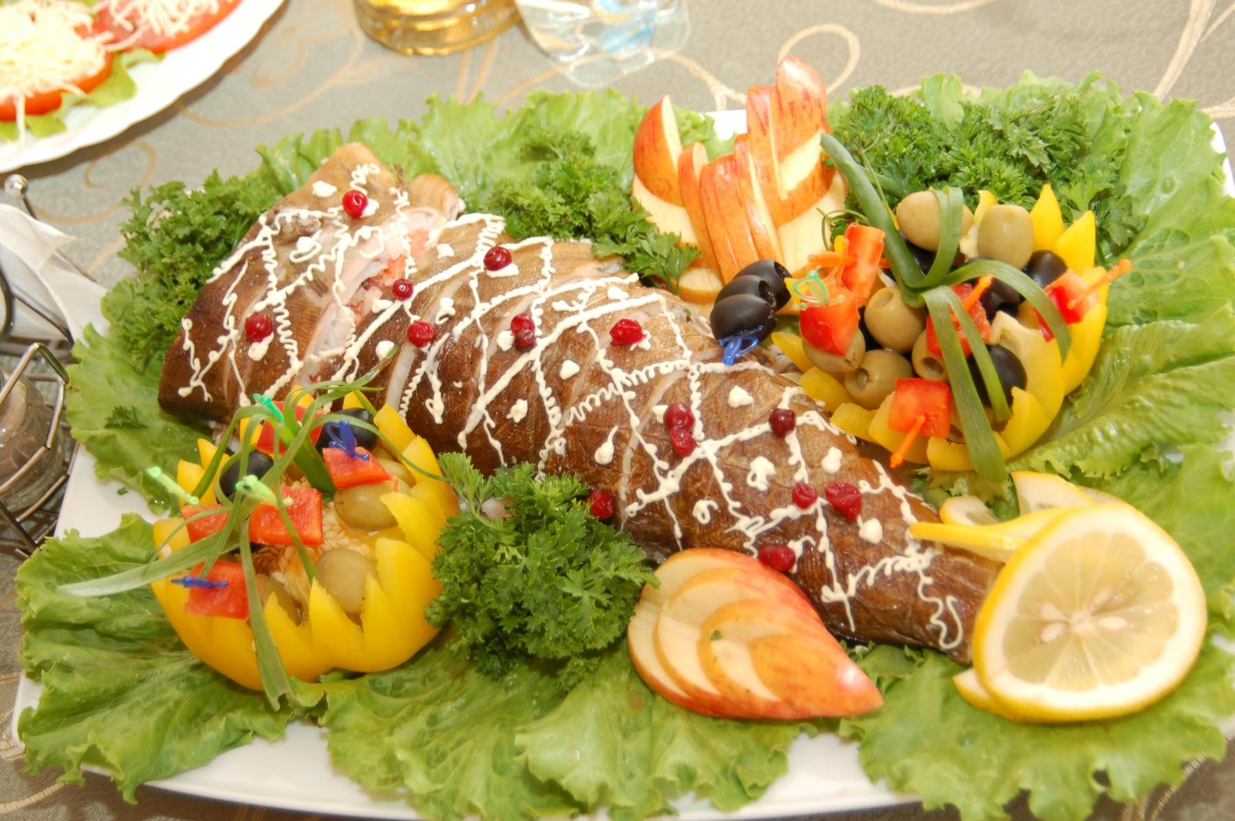Фото свадебные блюда
