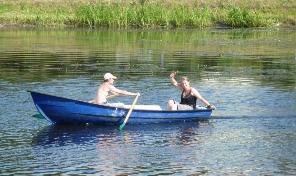 аренда лодки на реке